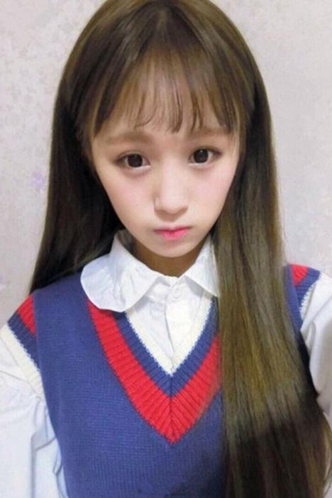 【空气刘海可爱长直发假发】-配饰-假发/假发配件