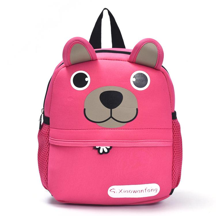 【儿童书包幼儿园男女小熊可爱卡通图案双肩包】