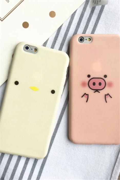 苹果7plus小猪可爱壁纸